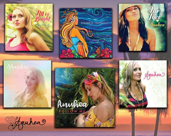 Image of All Anuhea's CD's - Autographed