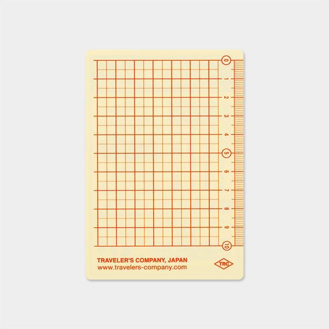 Image of TRAVELER'S Company 2018 Passport Underlay (Plastic Sheet)