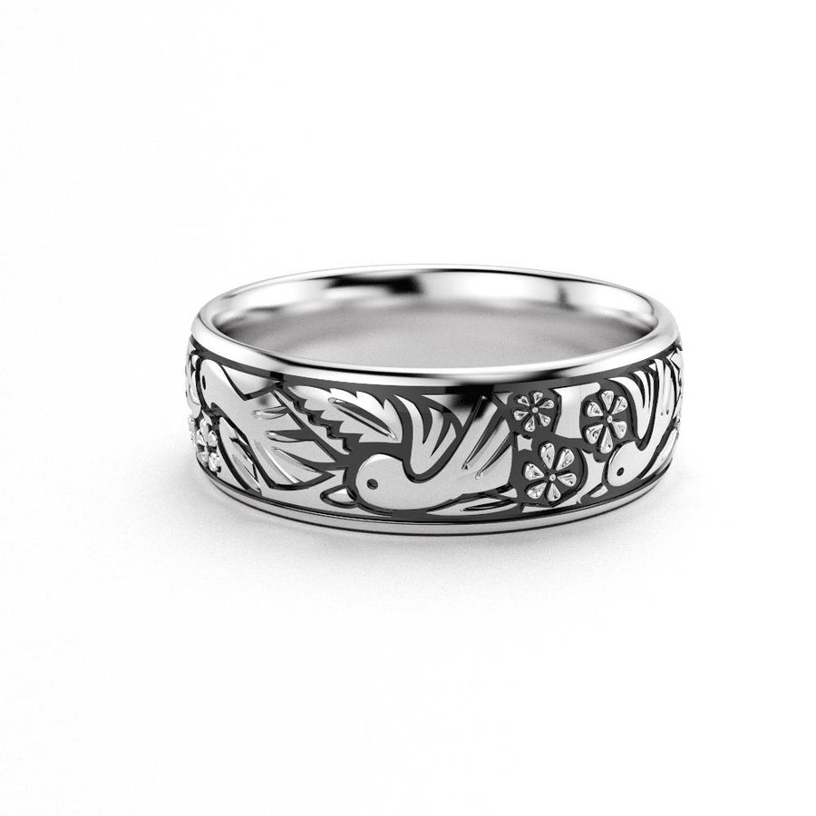 Image of Robin Eternity Band