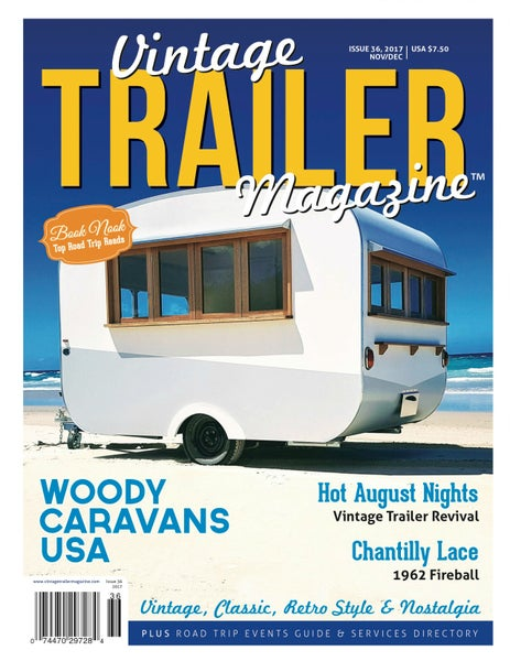 Image of Current Issue 36 Vintage Trailer Magazine
