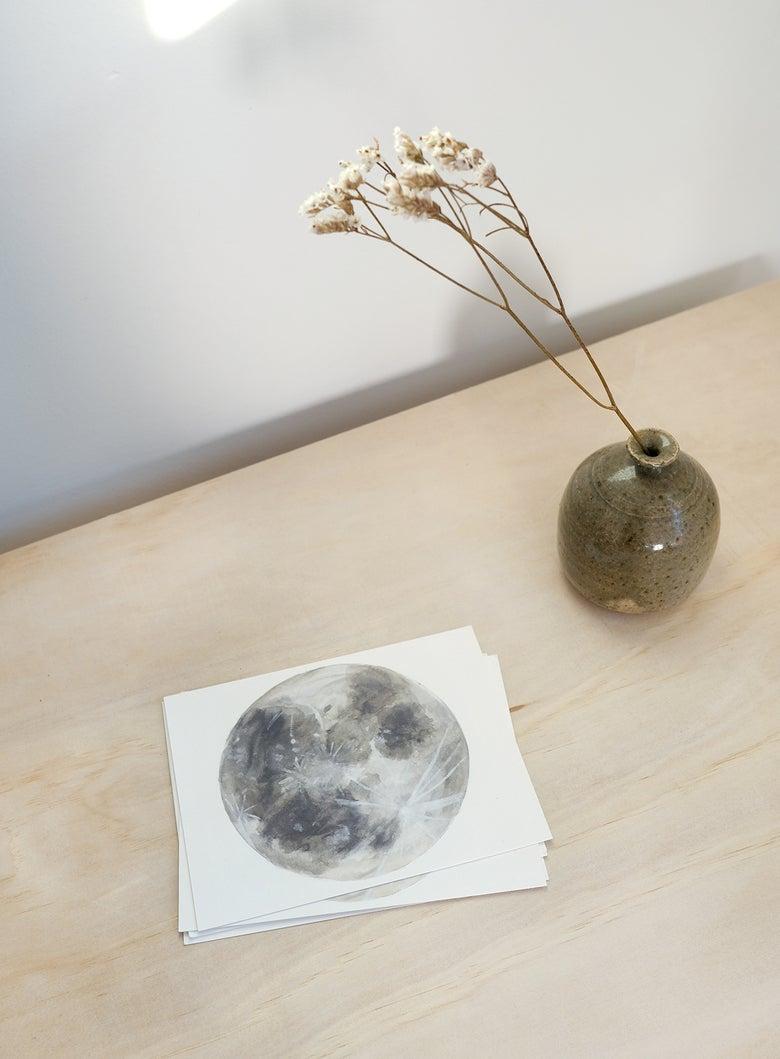 Image of Moon Postcard Set