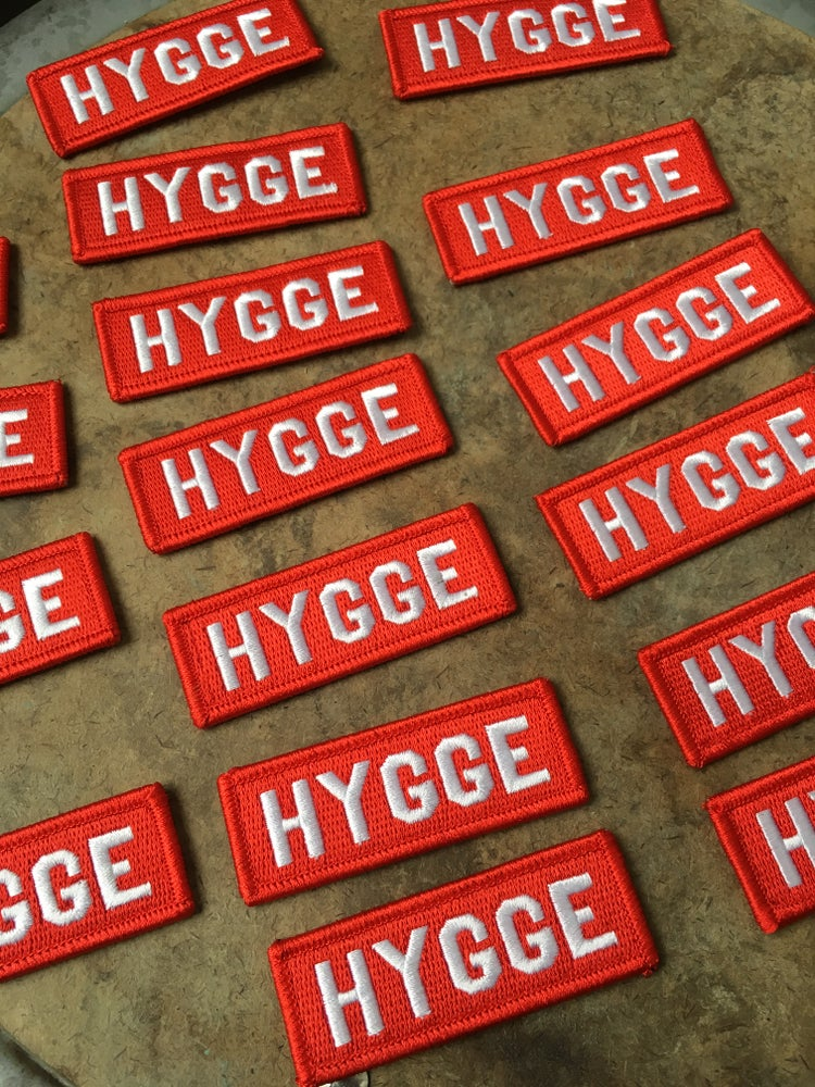 Image of Hygge- Iron on Patch