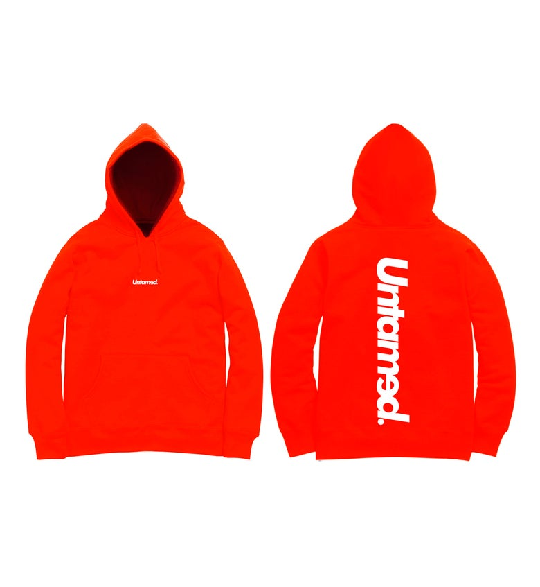 Image of Untamed - Red Hoodie