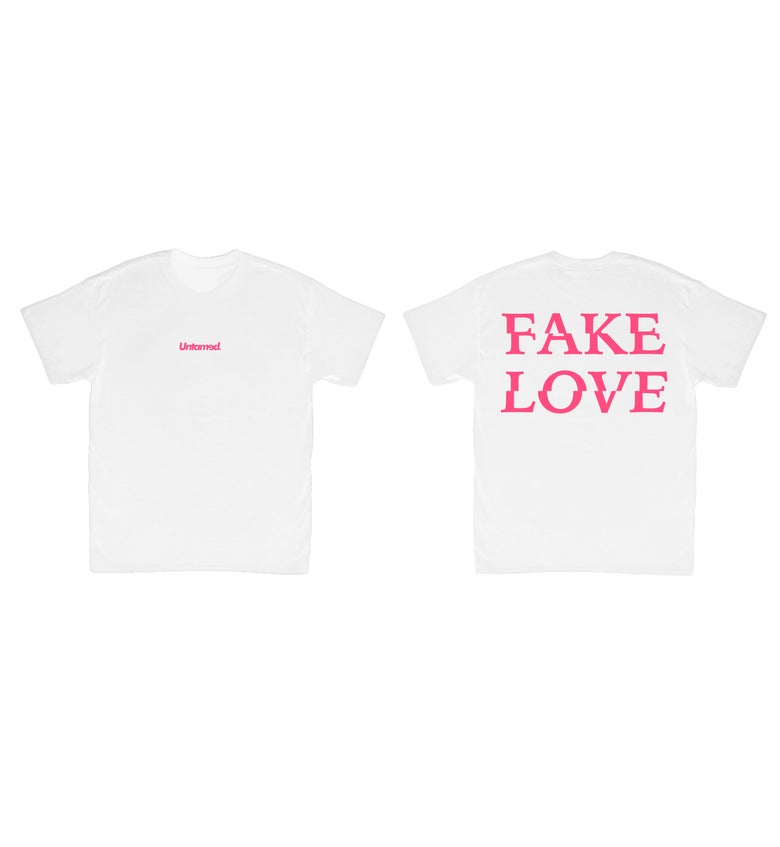 Image of Untamed - Fake Love Tee