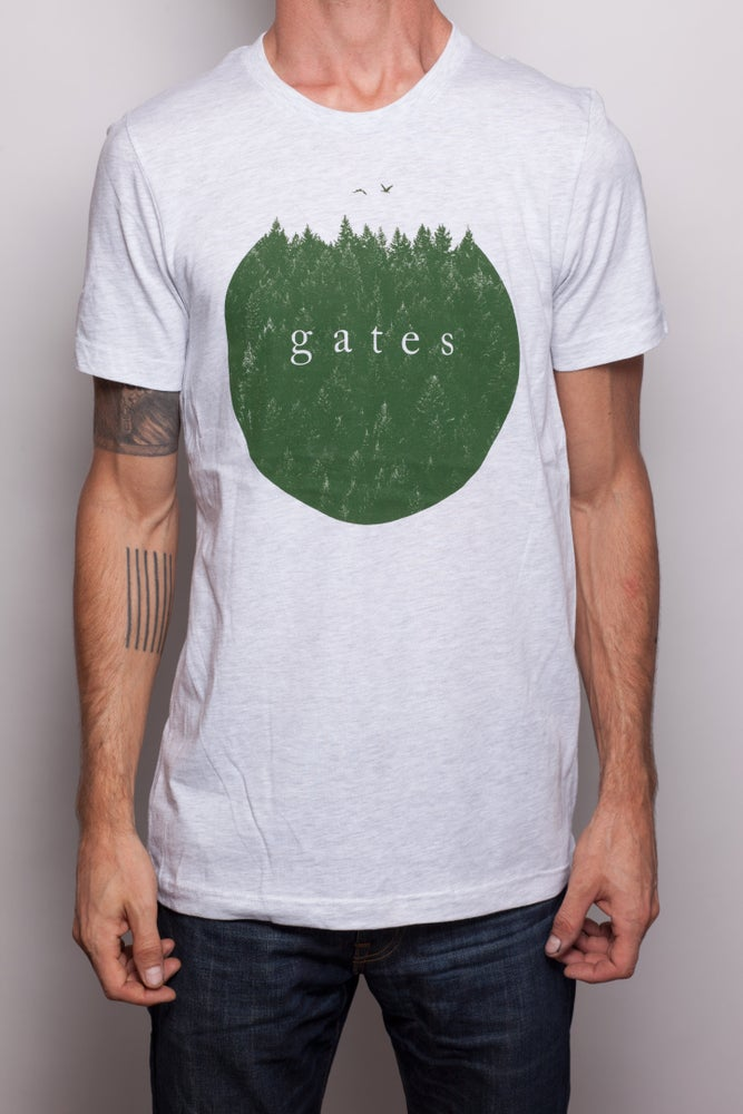 Image of Light Grey 'Forest' Shirt