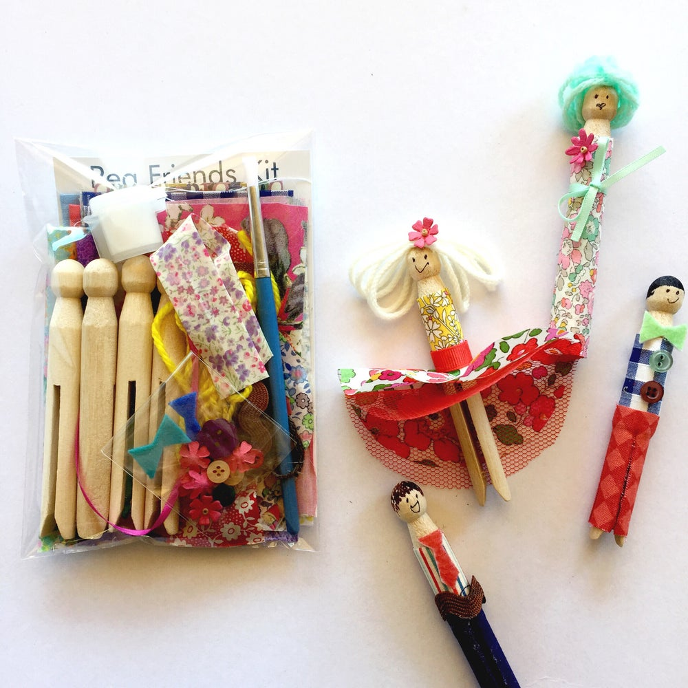 Image of Peg Friends Kit