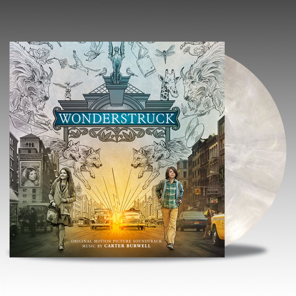 Image of Wonderstruck (Collectors Edition) - Carter Burwell -  'Museum White Marble' Vinyl
