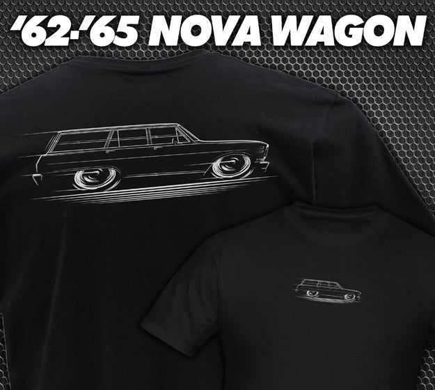 Image of '62-'65 Nova Wagon T-Shirts Hoodies Banners