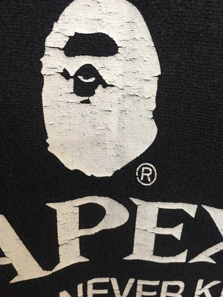 "Image of Bape Vtg Rare Exclusive ""Bapex"" Hoodie M"
