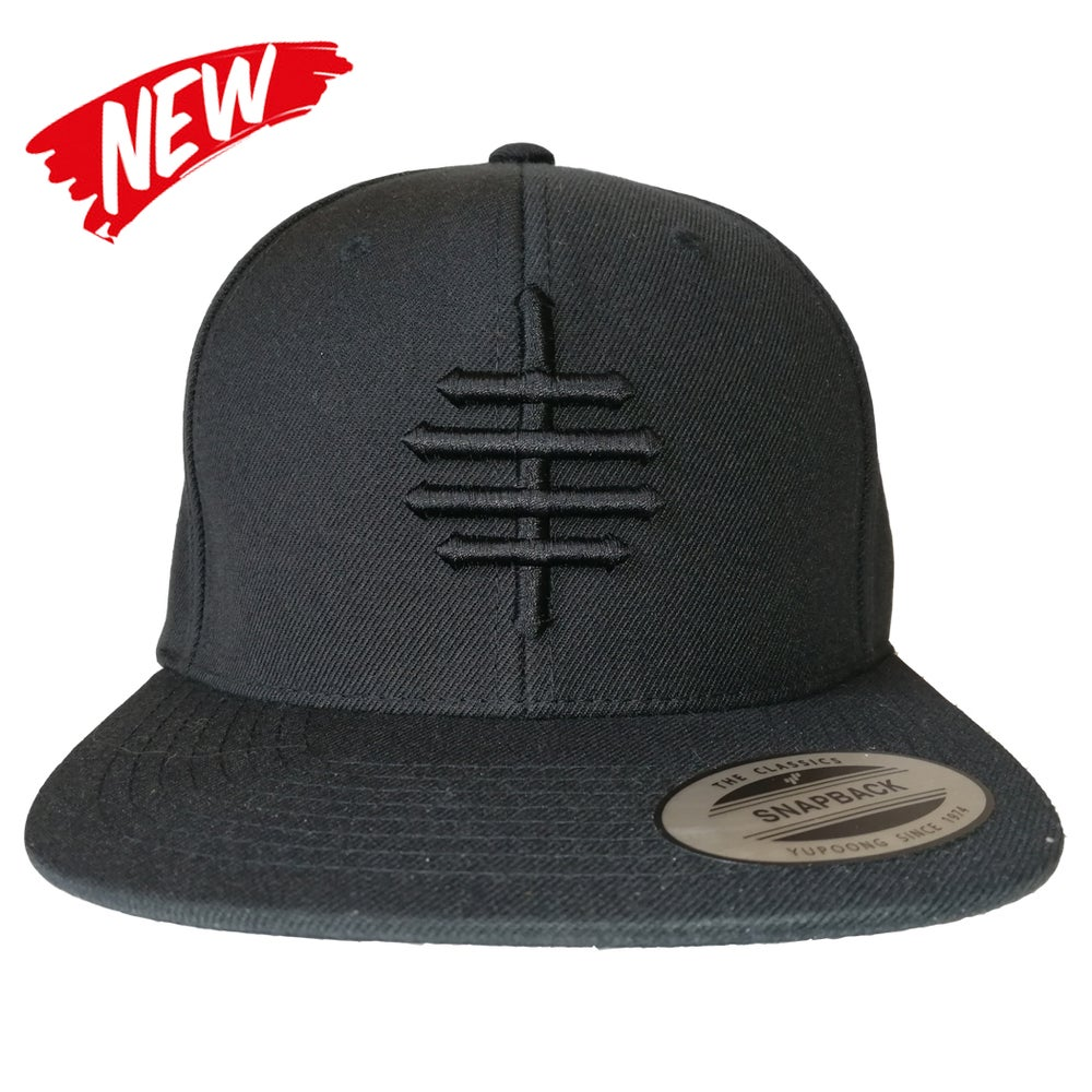 Image of ALL BLVCK SNAPBACK