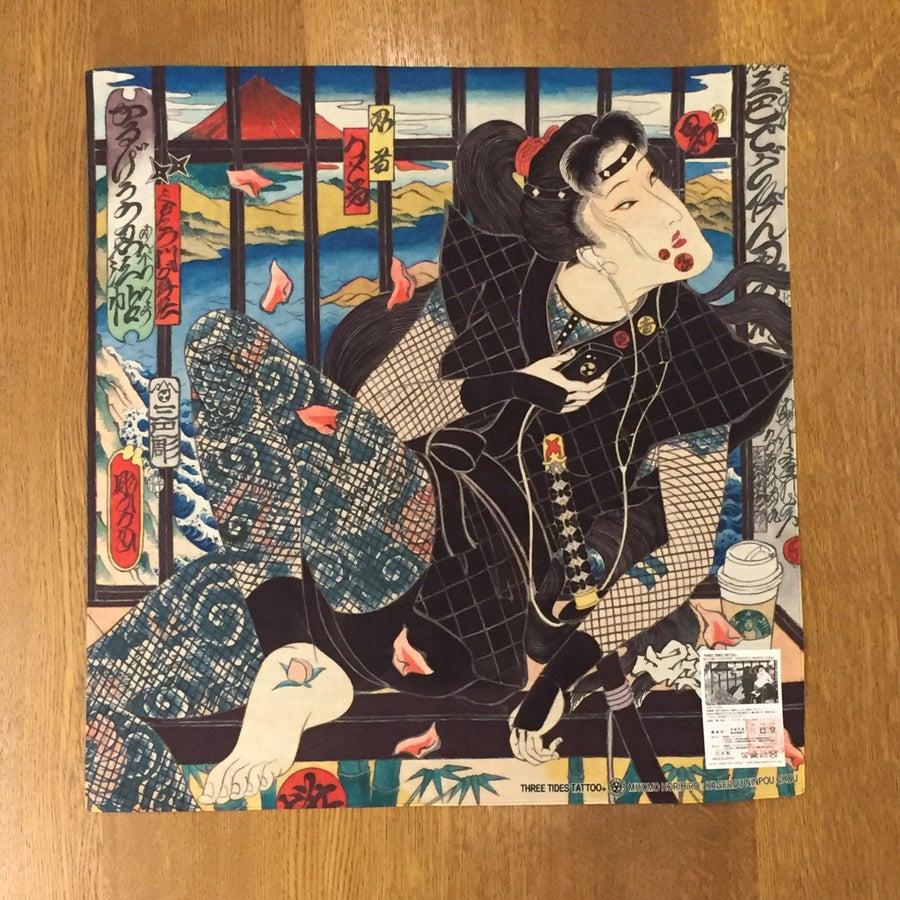 Image of HORIHIRO NINJYA GIRL HANDKERCHIEF
