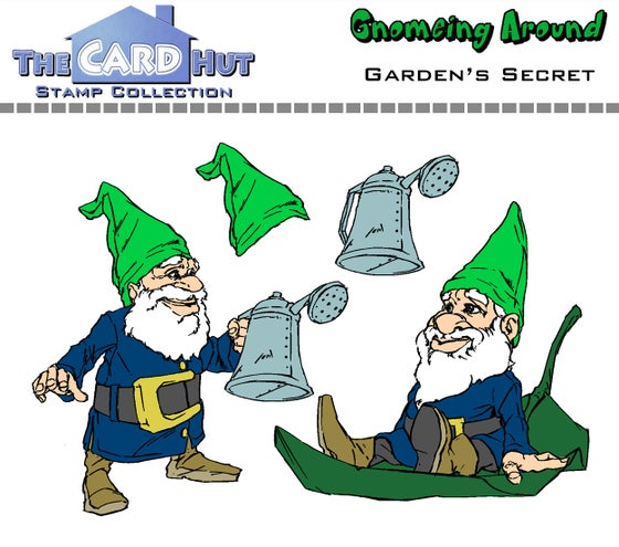 Image of Gnomeing Around: Garden's Secret - Stamp Set