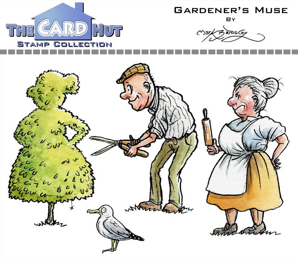 Image of Gardener's Muse - Stamp Set