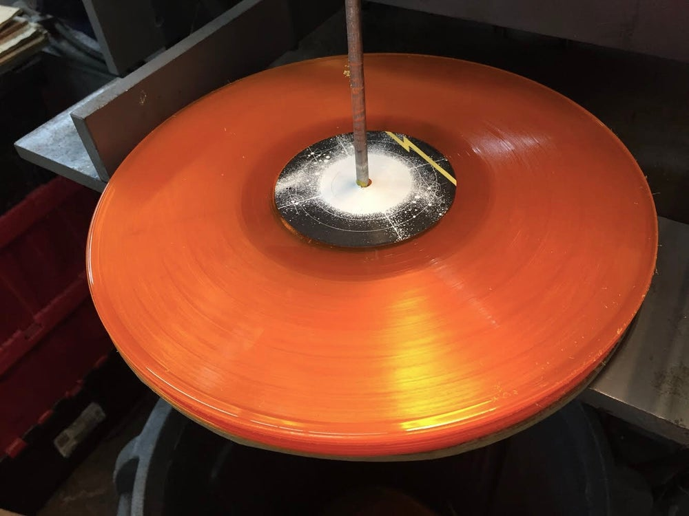 """Image of CSC Funk Band Translucent Yellow/Gold Vinyl 12"""" LP """"Above the Starrs"""""""