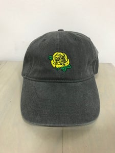 Image of Gray Dad Hat - Yellow Rose of Texas