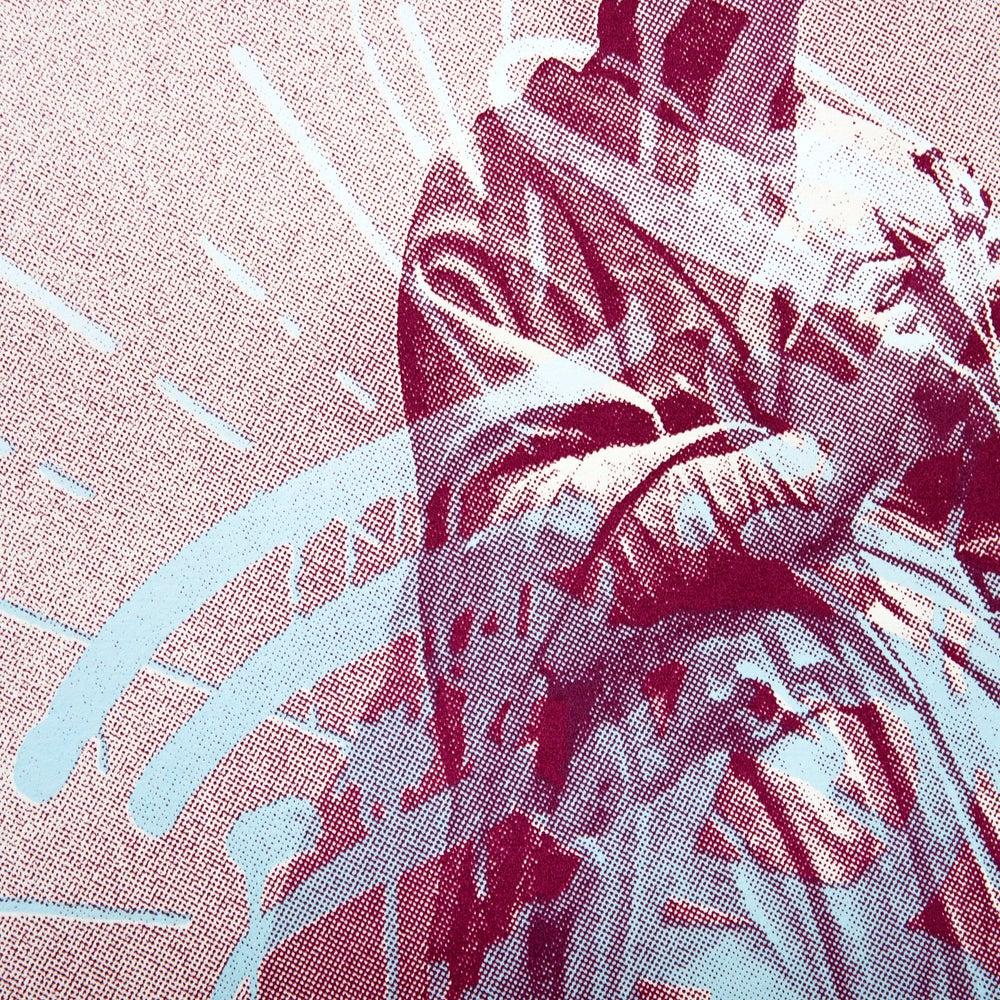 Image of Graffiti Halo (Red)