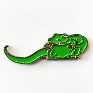 Image of BIG LIZARD Enamel Pin