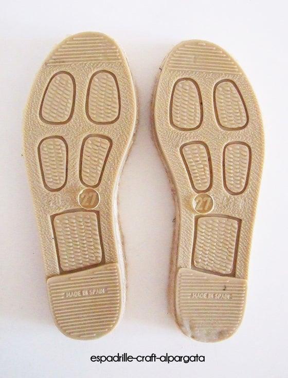 Image of espadrille soles - kids 2