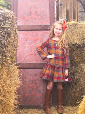 Image of Mad for Plaid Dress