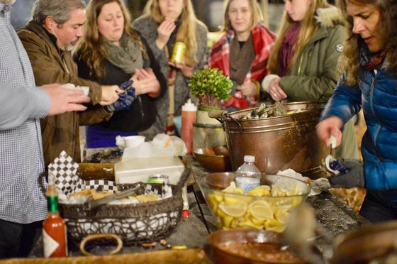 Image of Holiday Oyster Roast