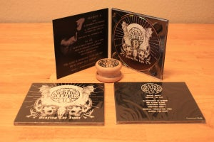 Image of Cold Crypt (pro CD-R digipak, grinder) - Bearing the Light