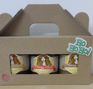 Image of Gift Pack - 3 x 325g Spice Blended Honeys