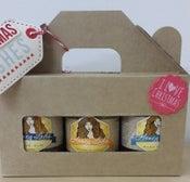 Image of Gift Pack - 3 x 200g plain raw honey