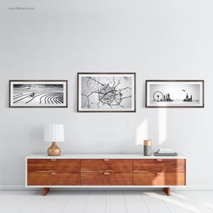 Image of LifeCycle series - Cityscape, Terrain & Road Map