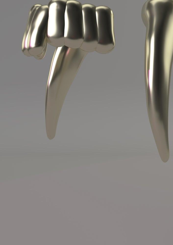 Image of DEUS LUMEN EST / DETAIL #2 (A1 PRINT)