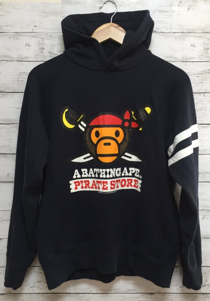 Image of Bape Japan Exclusive Baby Milo Pirate Store Hoodie