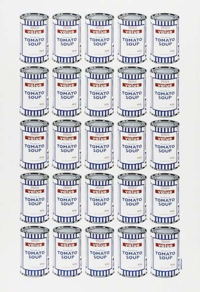 Image of Banksy - Soup Cans