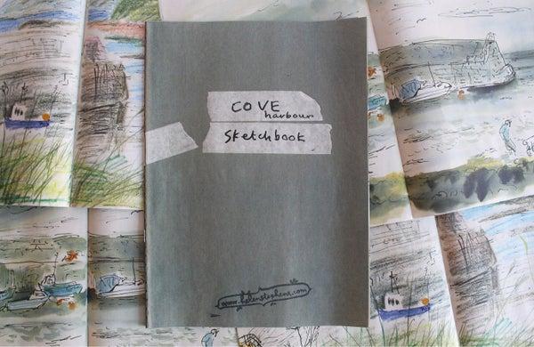 Image of Helen's Cove Harbour Sketchbookzine