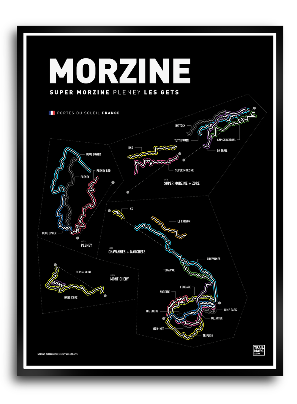 Image of Morzine & Les Gets Art Print