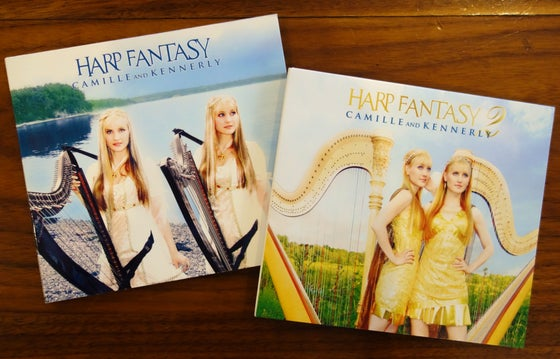Image of Harp Fantasy 1&2 AUTOGRAPHED CD Bundle