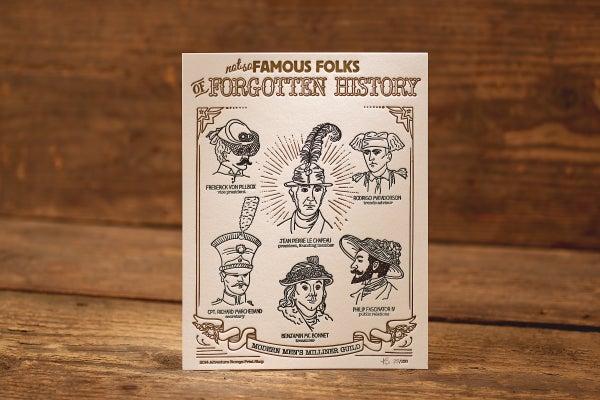 "Image of Modern Men - Limited Edition Letterpress Print (8.5 x 11"")"