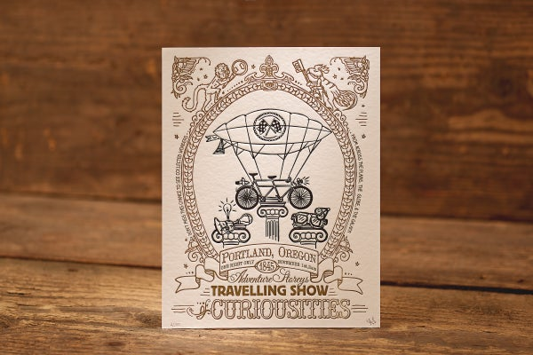 """Image of Technology - Limited Edition Letterpress Print (8.5 x 11"""")"""