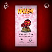 Image of Hellboy/B.P.R.D: Limited Edition itty bitty Hellboy enamel pin