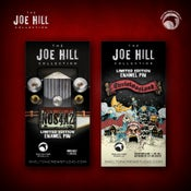 Image of The Joe Hill Collection: Limited Edition N0S4A2 and Christmasland pin set
