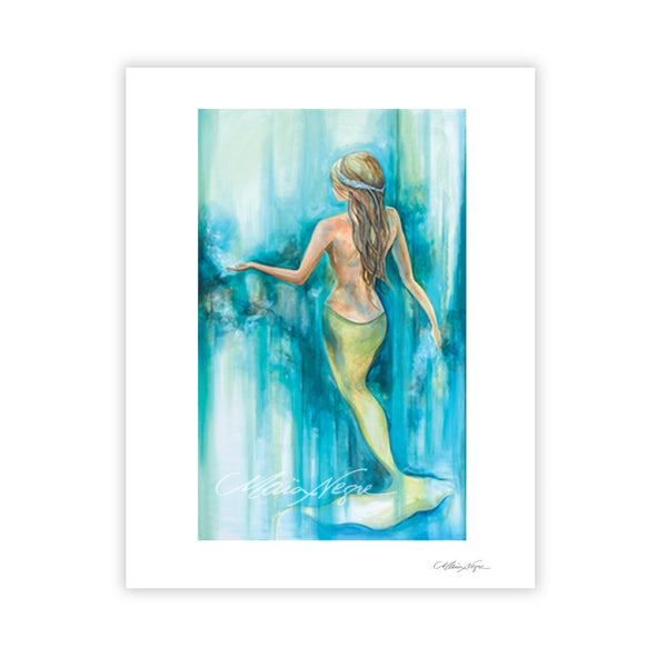 Image of Mermaid 9, Archival Paper Print