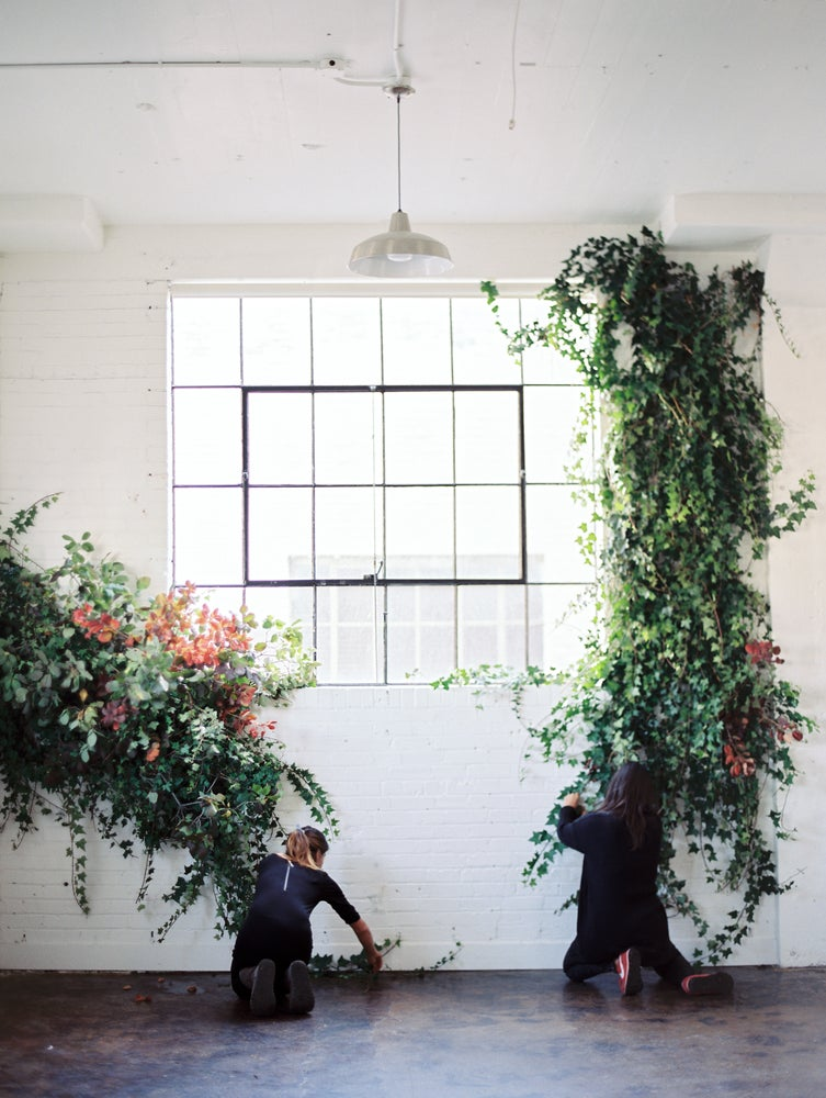 Image of Installations - Arbors, Ceremony Aisles, and Suspended Installations