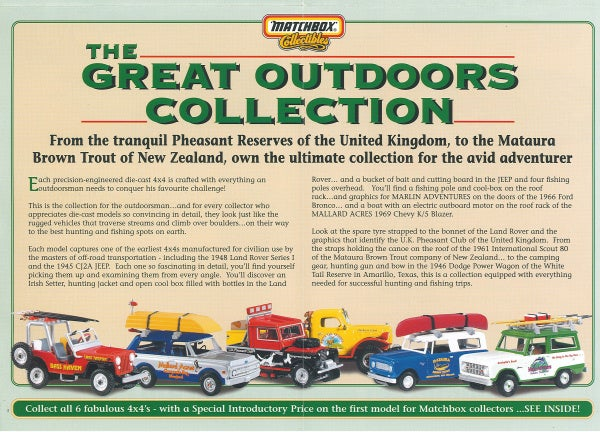 Image of White Marlin Adventures Edition Matchbox Collectibles Bronco