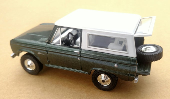 Image of Green Matchbox Collectibles 1:43 Bronco Diecast