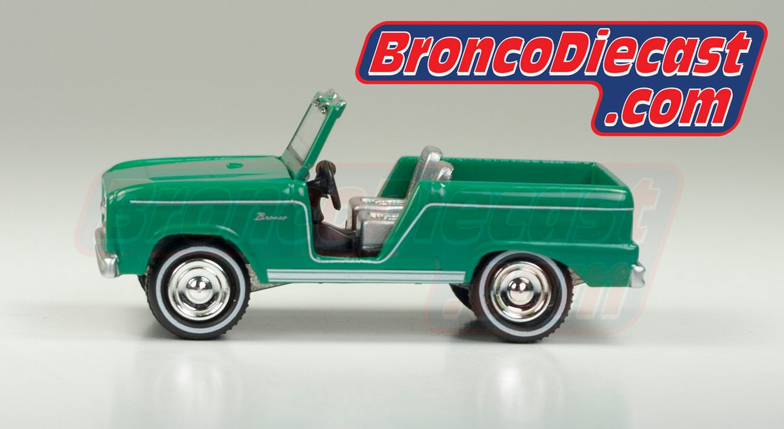 Image of Green 1965 Introductory Advertisment Edition Johnny Lighting Diecast Bronco