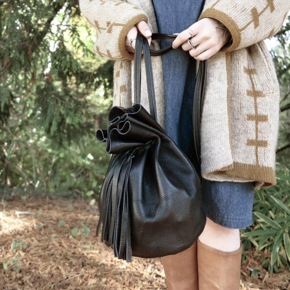Image of sadie with tassels