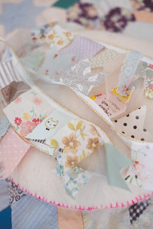 Image of Sweet fabric garlands