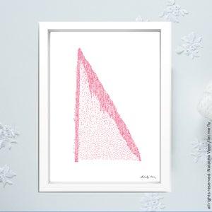 Image of Pink *Jet d'eau de Genève*_A3