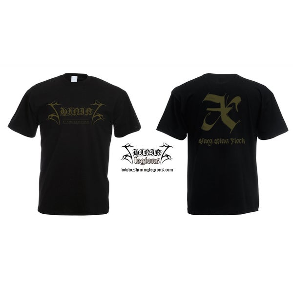 "Image of PREORDER Shining ""X - Varg Utan Flock"" T-shirt or Girlie shirt"
