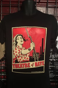 Image of THEATRE of HATE 'Hausfrau' T-Shirt