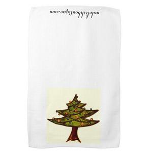 Image of Christmas Tree Tea Towel