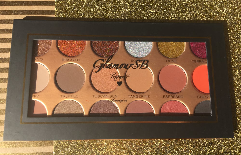 "Image of NEW GlamourSB ""TEXTURES"" Eyeshadow palette"